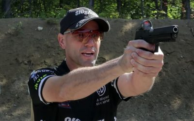 WATCH: Master the Pistol Draw Stroke With Team SIG Sauer's Max Michel