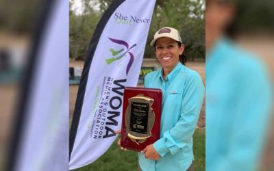 Mia Anstine Wins Women's Outdoor Media Association Award