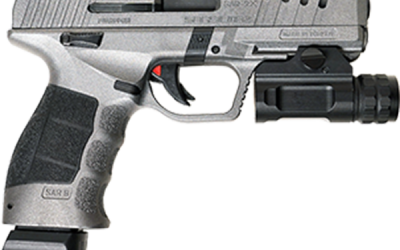 New SAR 9X Platinum – Turkish Striker-Fired Semi-Automatic 9x19mm Pistol