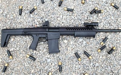 Blackwater Sentry 12: First Look at the AR-Style, Polymer Pump Shotgun
