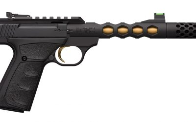 Browning Buck Mark Plus Vision: New Variant Comes Suppressor Ready