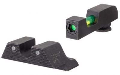 Get on Target, Day or Night, with the Innovative Trijicon DI Night Sights
