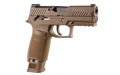 SIG Announces Release of 5,000 M18 Commemorative P320 Pistols