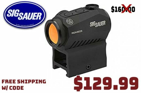 SIG SAUER ROMEO5 MOA Compact Red Dot Sight 2021