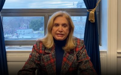 Rep. Carolyn Maloney Drops the Mother of All Gun Control Bills