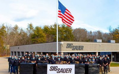 SIG SAUER Completes Delivery of Next Generation Squad Weapon System to U.S. Army