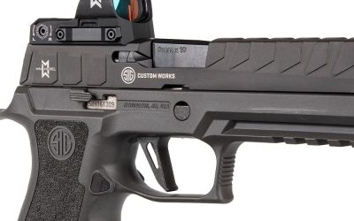 SIG Sauer Introduces the P320MAX Competition Optimized Pistol