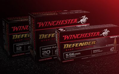 Winchester Defender Line Adds 5.56, 12-gauge & 20-gauge Loads