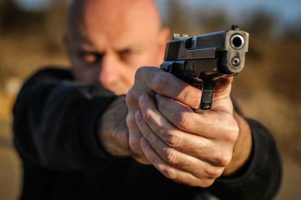 Crazy Attackers, Robbers, and Convicts – More Self Defense Gun Stories iStock-1085735902