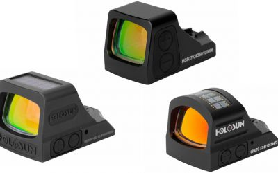 Holosun X2: New Series Brings 3 Red Dots Built for Hard Use