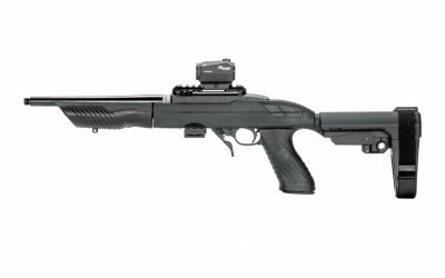 SB Tactical SB22 Chassis For Ruger 22 Charger