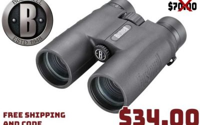 Tactical Deal: Bushnell All Purpose 10X42mm BK-7 Roof Prism Binoculars $34.00 FREES&H