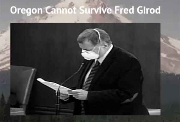 Oregon: Recall Republican Sell-Out Fred Girod