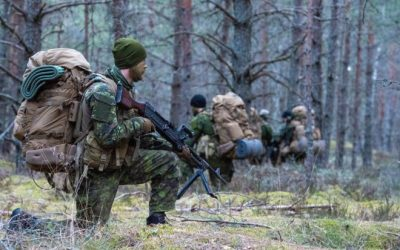 POTD: eFP Battle Group-Latvia In Joint Force Exercise