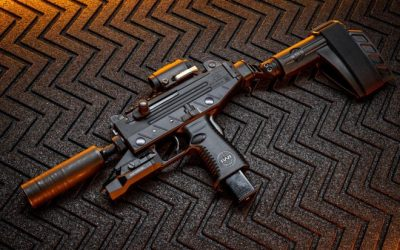 POTD: New Uzi Pro with SilencerCo Omega 9k and Aimpoint T2