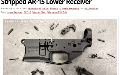 SilencerCo Lower Receivers Now Available Through Major Distributors