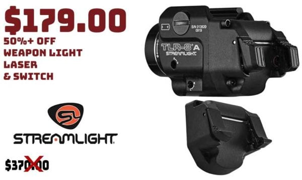 Streamlight TLR-8A Weapon Light, Laser & Switch Combo Sale