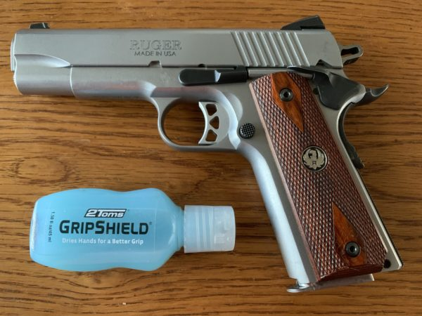 If you have trouble during your high speed shooting competition events try out the 2TOMS GripShield.