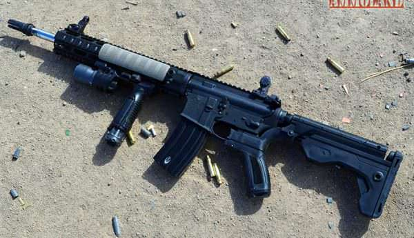 Slidefire Solutions Bump Fire Stock on an Anderson Rifles AR15 Lower
