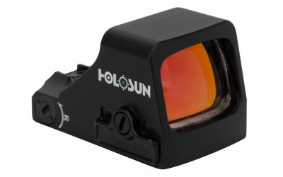Holosun 407 Red Dot: Pistol Optic Adds Green Reticle for EDC