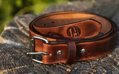 1791 Gunleather Adds Vintage Leather Gun Belts to Their Product Lineup