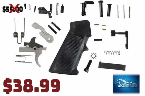Anderson Manufacturing AR-15 Lower Parts Kit Sale