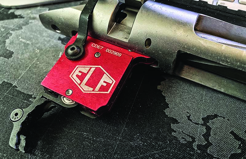Aftermarket triggers are an easy way to change the feel of the rifle with minimal cost and relative ease.