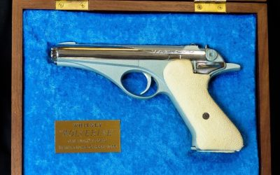 The Rimfire Report: The Space Age Whitney Wolverine 22LR Pistol